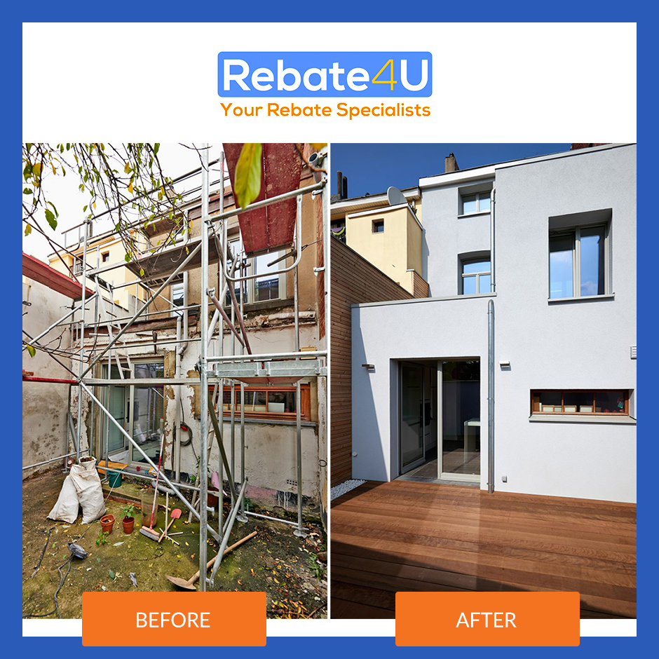 Rebate4U before and after condo flipping in Canada.